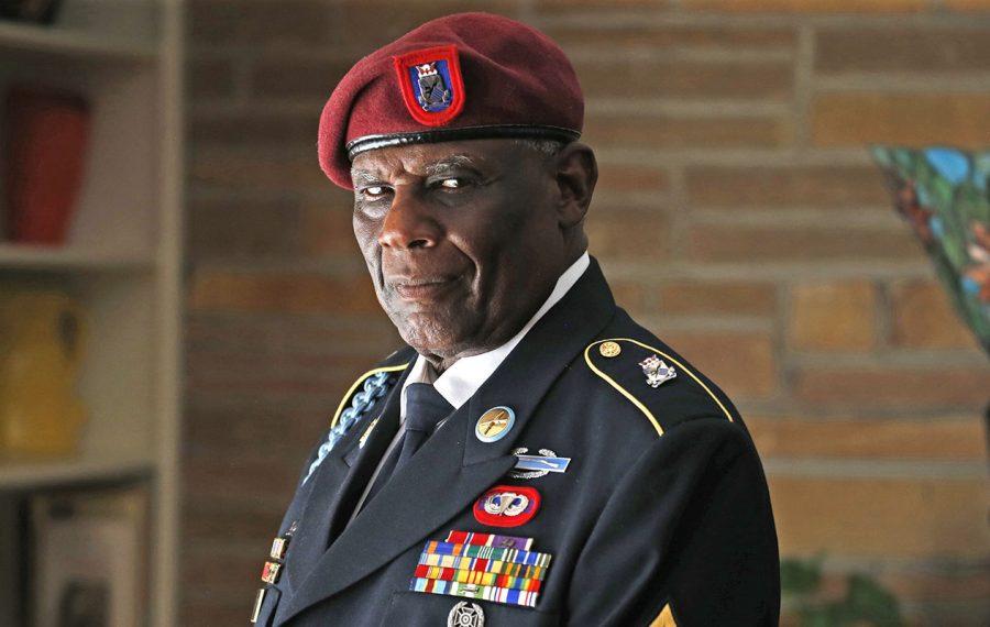 Vietnam veteran William Roland Hayes. (Robert Kirkham/Buffalo News)