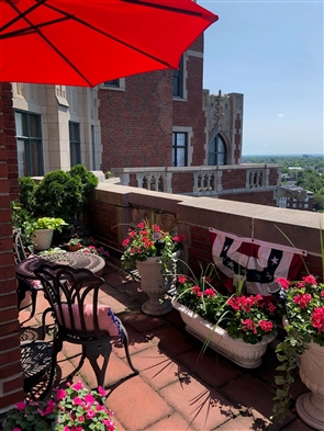 Robert J. Kochanski shared photos of his condo on West Ferry and described its history and decor for The Buffalo News Home of the Week feature.
