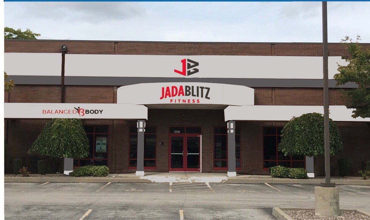 Jada Blitz Fitness will more than triple the size of its studio when it moves into the former Eastern Hills Buffalo Athletic Center later this year. (Rendering courtesy of Jada Blitz)