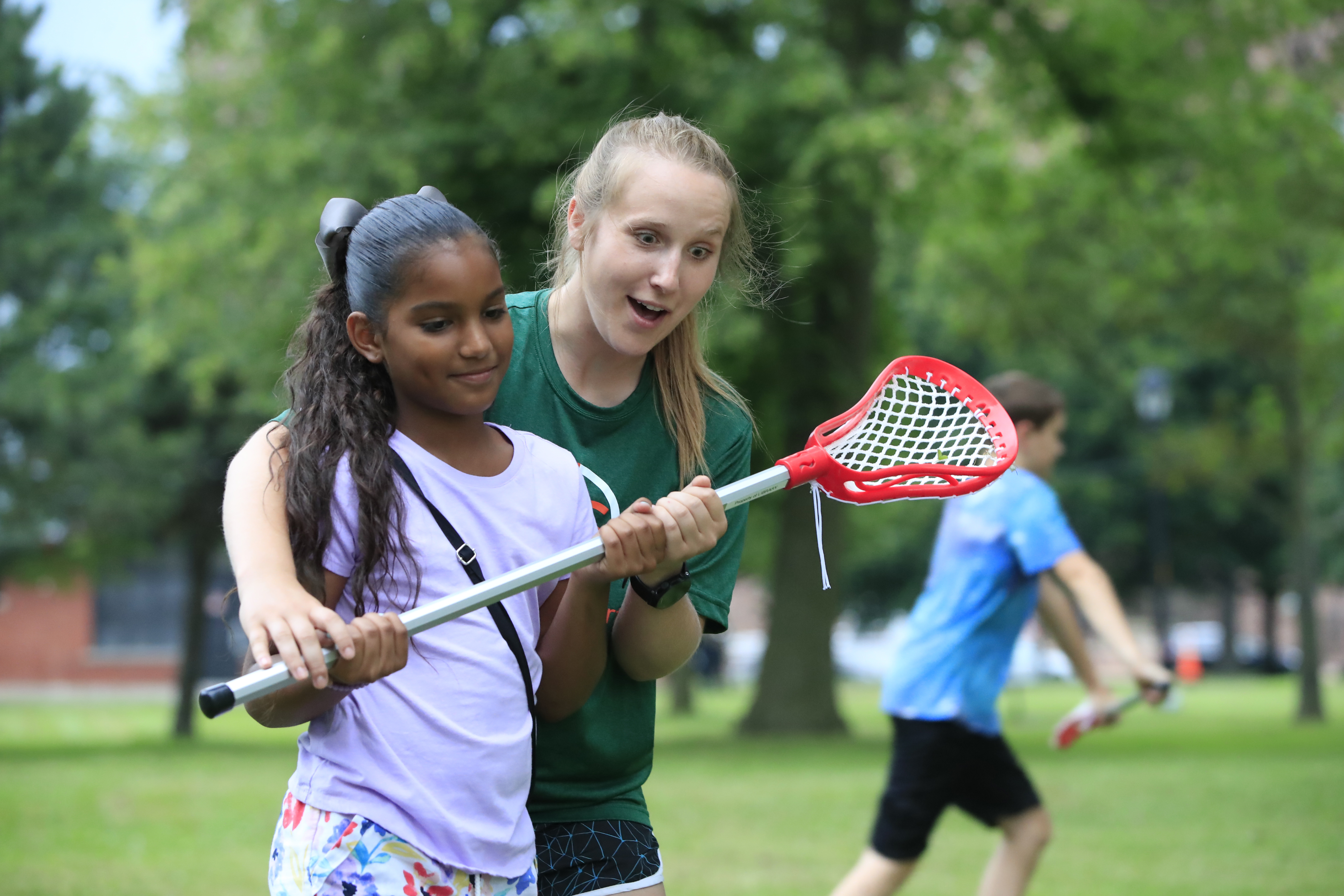 Along with books, West Side library lends lacrosse sticks and soccer