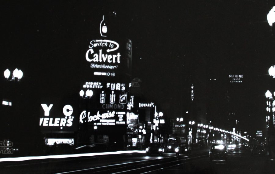 Main and Huron, 1950.