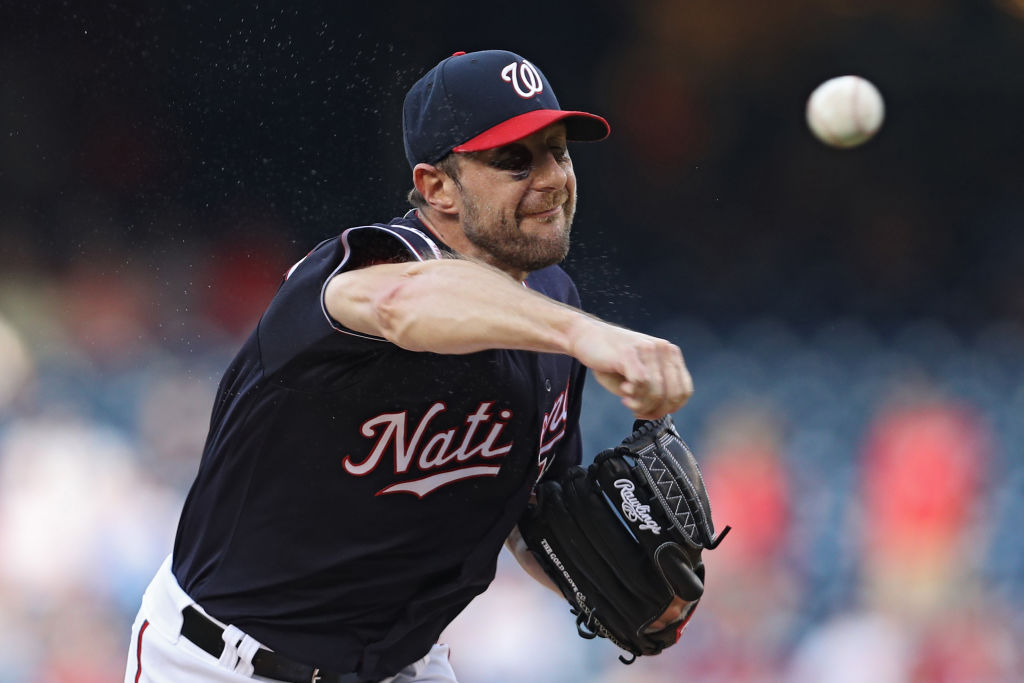 Max Scherzer has been dominant for the Nationals. (Getty Images)