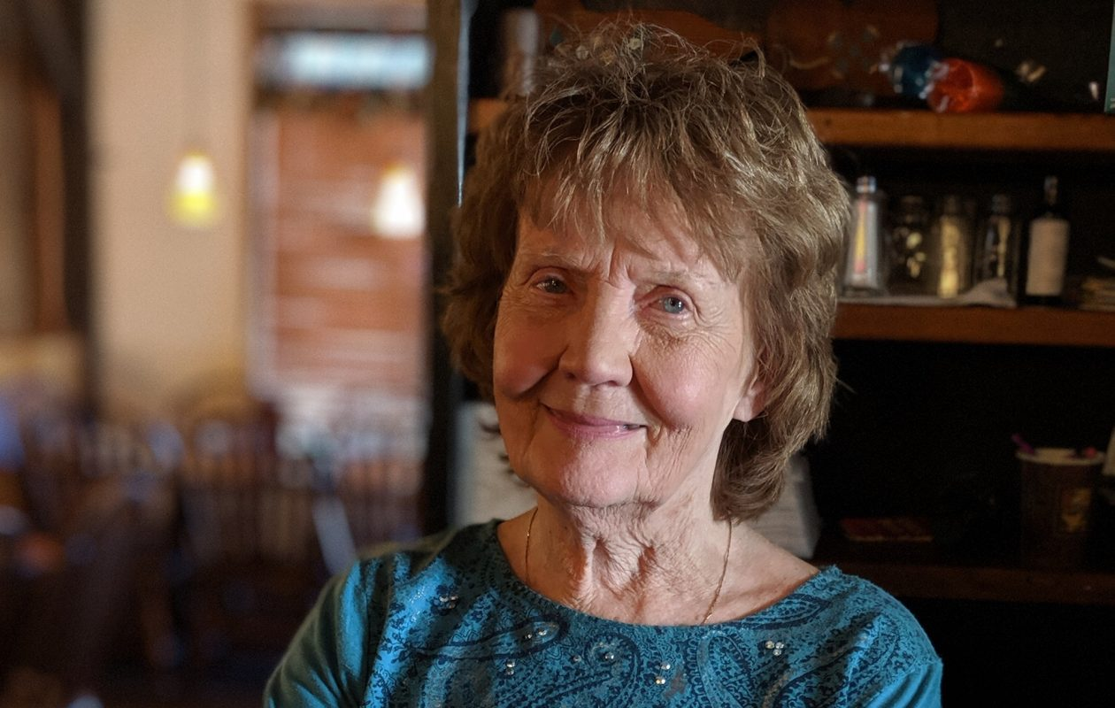 Patricia McGowan helps her owner sons handle all the restaurant duties at Al-E-Oops except bartending, she says, 'because I'd turn everybody away from drinking.'