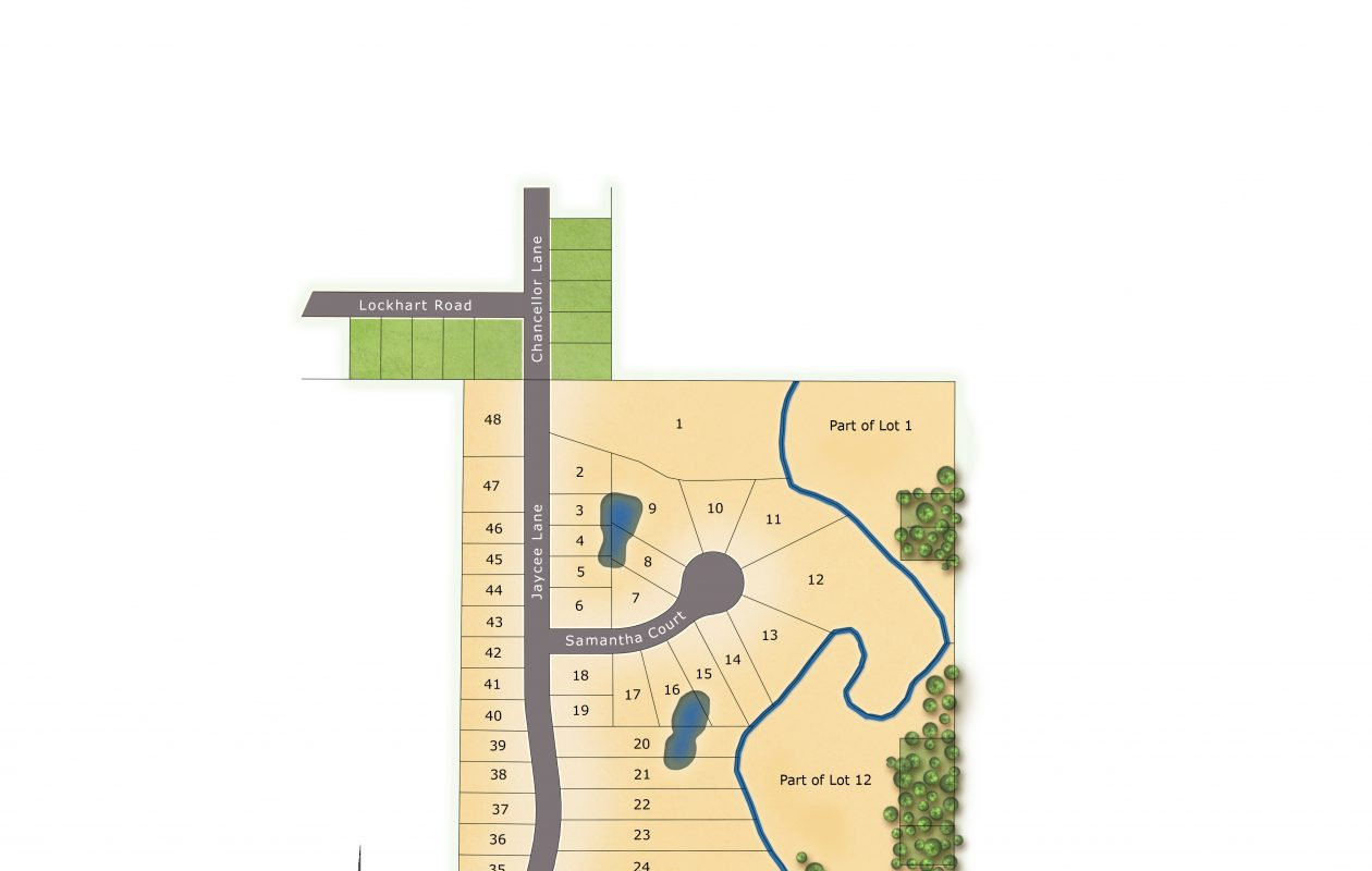 A layout of the new Princeton Park neighborhood in West Seneca, developed by Marrano Homes. (Image courtesy of Marrano Homes)