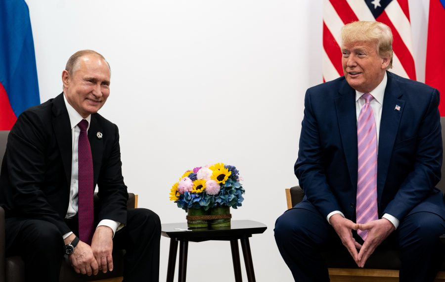 Donald Trump's admiration for Russian President Vladimir Putin is but one indication of where he wants to take America -- if the public lets him. (New York Times photo)