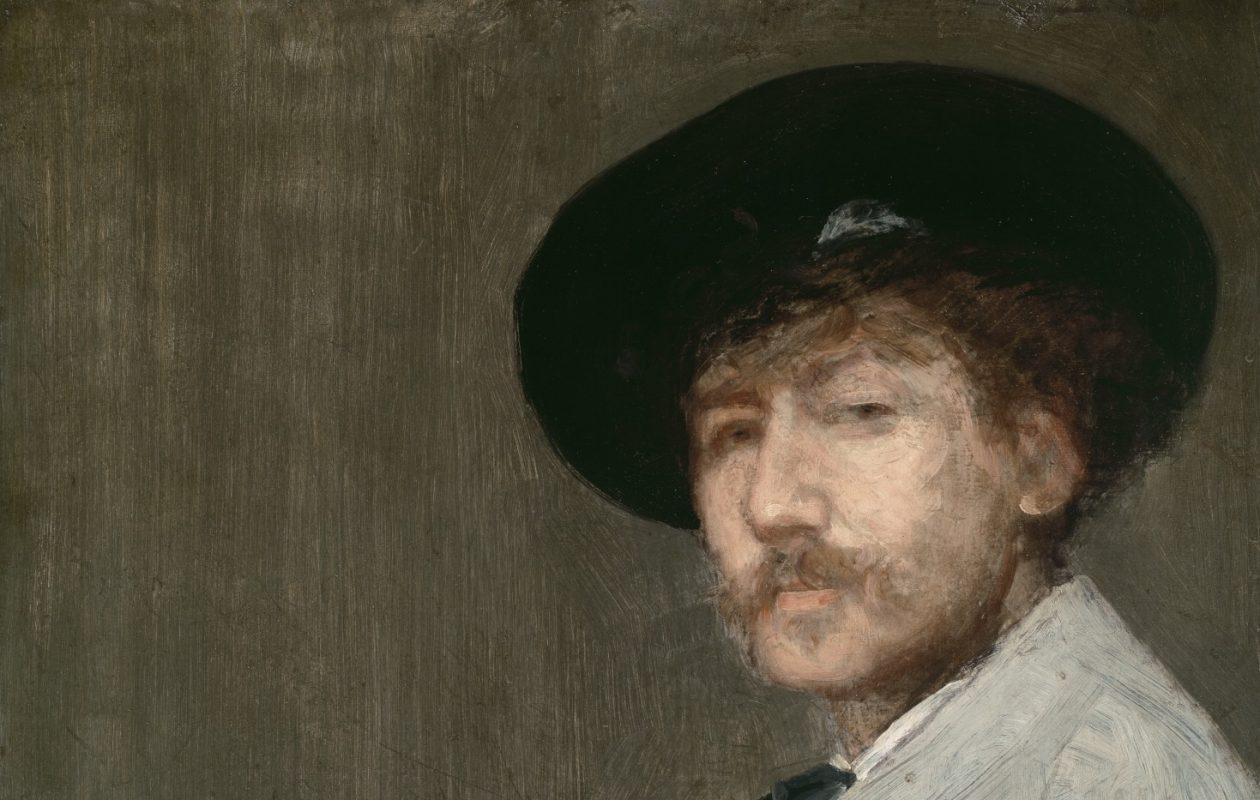 James McNeill Whistler, 'Arrangement in  Gray: Portrait of the Painter' (1872)