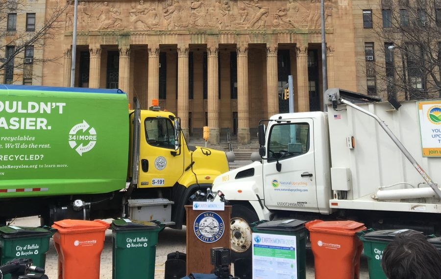 The City of Buffalo is expanding its food scraps recycling program. (News file photo)