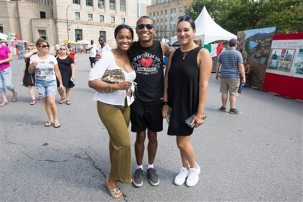 For the first time since the 1950s, the Italian Heritage Festival called Niagara Square home. A robust list of food vendors - including big names such as Lombardo, DiCamillo and Romeo and Juliet's - set up booths for festivalgoers to enjoy on Saturday, July 20, 2019.