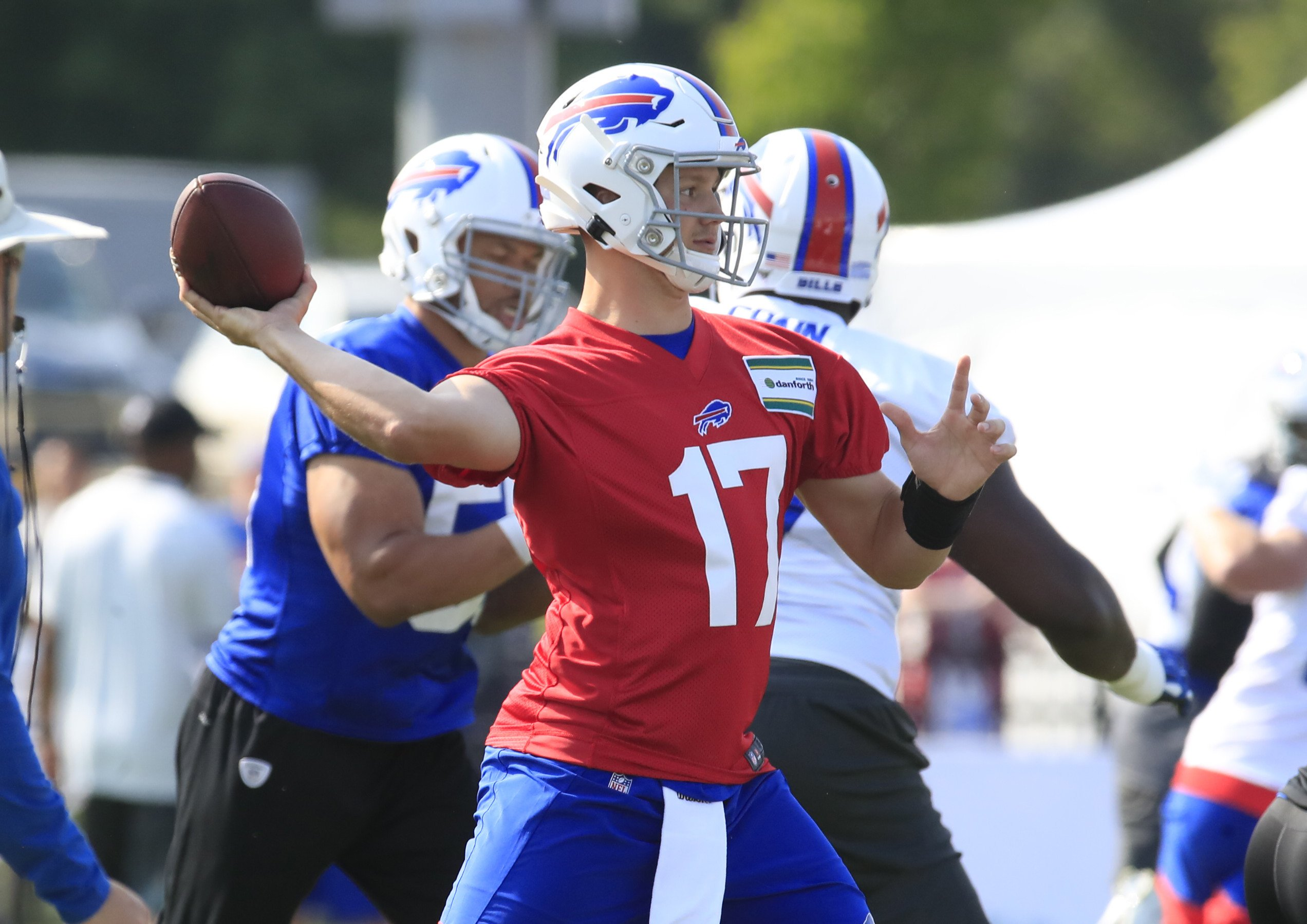 promo code 0b5c6 fae64 As Bills open camp: 'This is Josh Allen's team at this point ...
