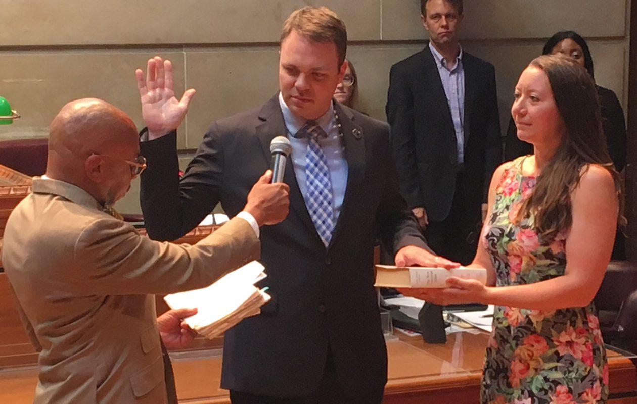 Michael Finn sworn in as Buffalo's new public works commissioner