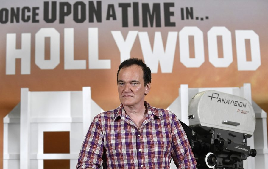 """Jeff Simon writes that Quentin Tarantino """"has just made the film I've been hoping he'd find his way to for a couple decades now, 'Once Upon a Time in Hollywood.'"""" (Photo by Kevork Djansezian/Getty Images)"""