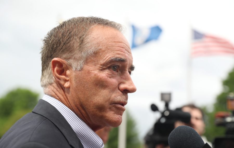 Rep. Chris Collins maintains he is innocent of allegations made in a federal insider trading case.   (John Hickey/Buffalo News)