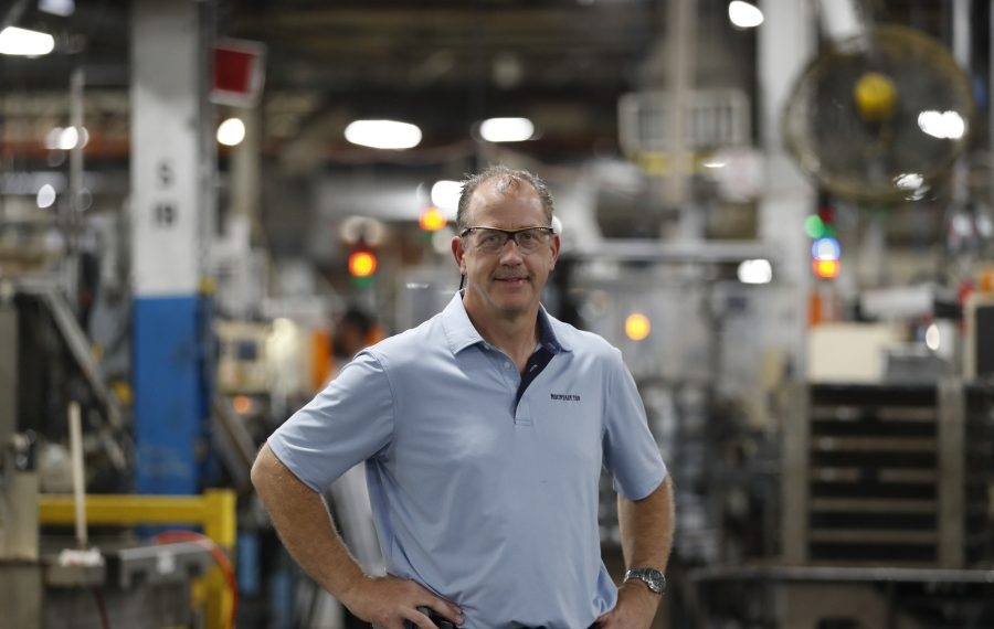 Ken Johnson was named plant director of GM's Lockport plant in May. (Sharon Cantillon/Buffalo News)