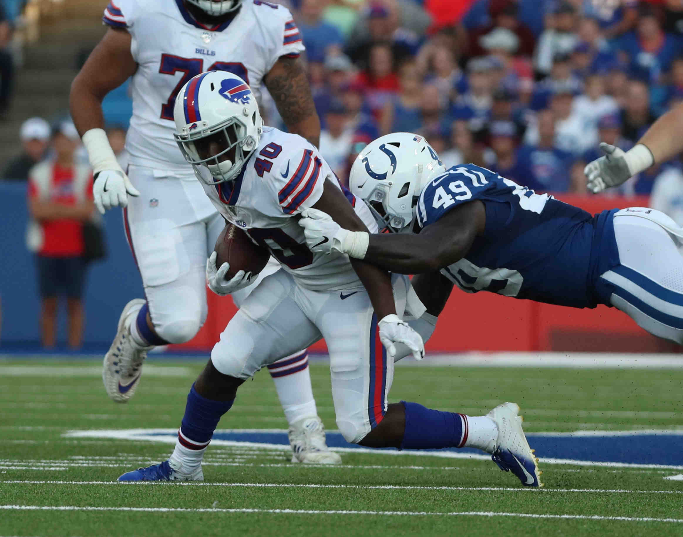 How Devin Singletary proved himself to the Bills - Buffalo News