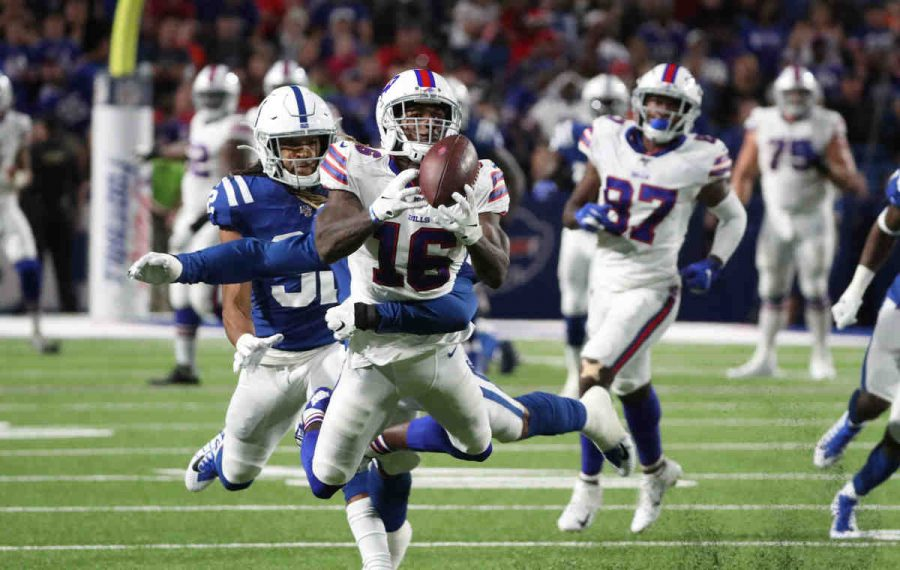 Bills wide receiver Robert Foster is among the Alabama alumni in the NFL. (James P. McCoy/Buffalo News)