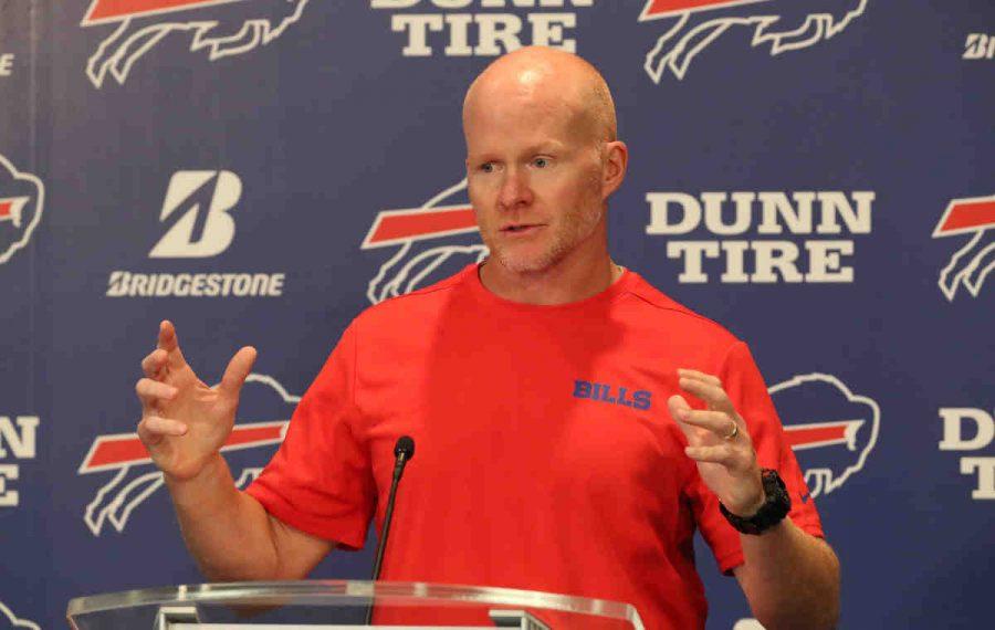 Buffalo head coach Sean McDermott. (James P. McCoy/News file photo)
