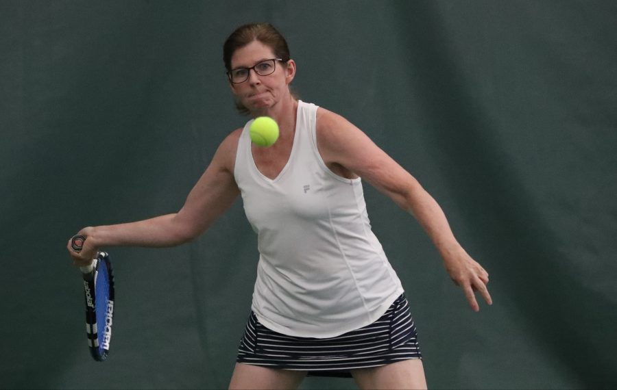 Even at 5-foot-6, Jane Early is a local tennis powerhouse