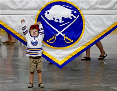 Fans of the Buffalo Sabres got to hobnob with current and past players and listen to panel discussions on Saturday, Aug. 17, 2019, at KeyBank Center.