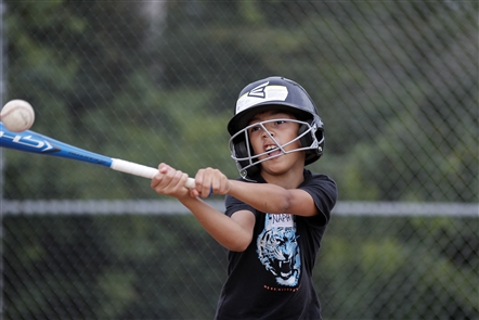 Kids from the West Side of Buffalo learn baseball during a weeklong summer camp in Hamburg. Photos taken on Thursday, Aug. 22, 2019.