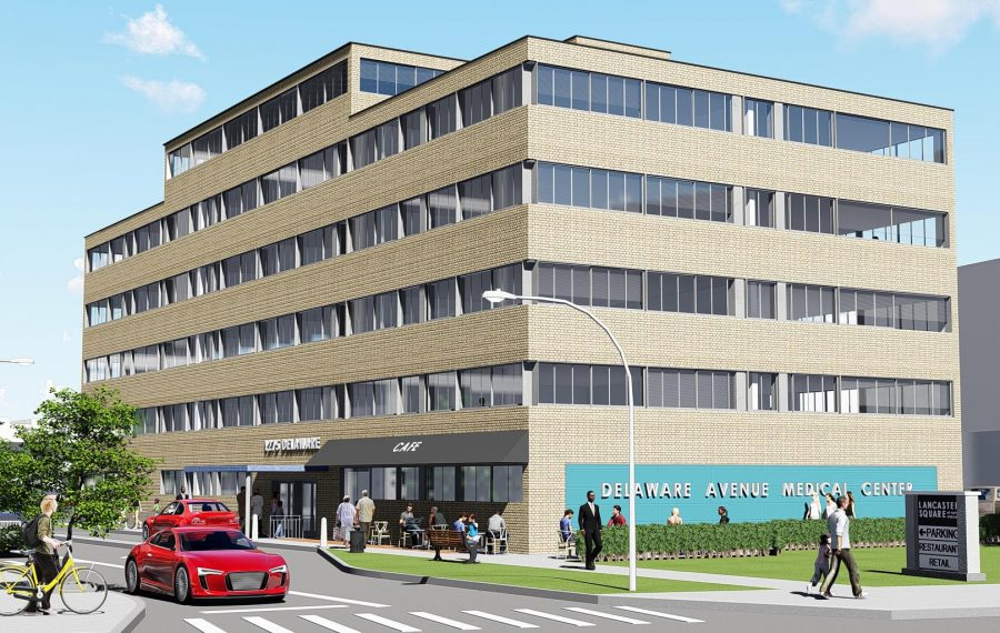 A Montante rendering of what the 1275 Delaware project will look like when completed. (Contributed image)