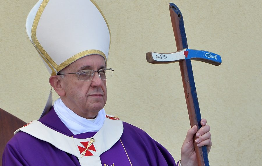 Pope Francis earlier this year issued the first law obligating officials in the Roman Catholic Church worldwide to report cases of clergy sexual abuse – and attempts to cover it up – to their superiors. (Getty Images)