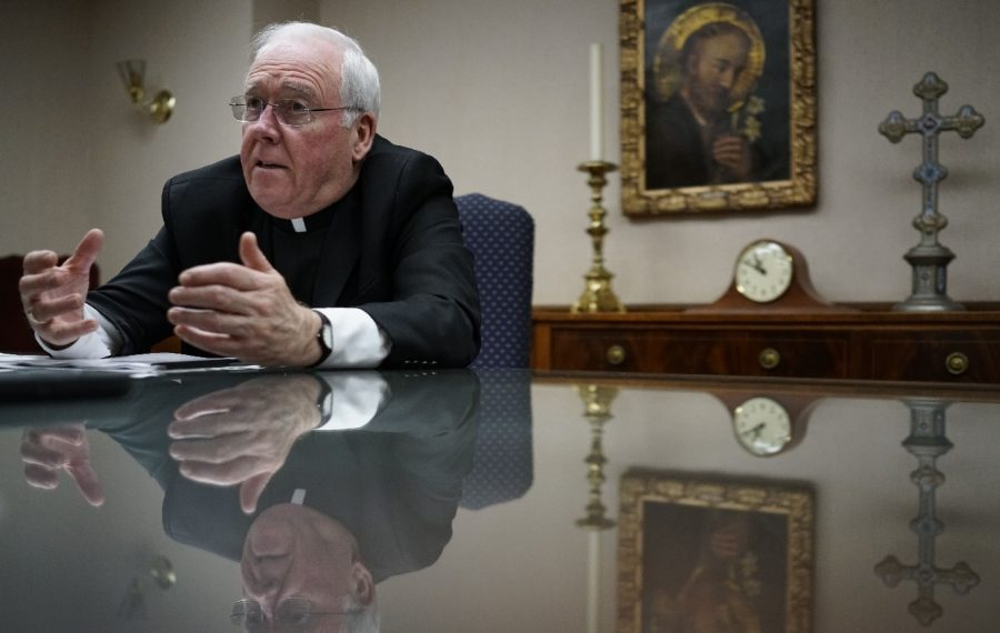 For the good of the church and out of respect for the victims of sexual abuse by clerics, Buffalo Bishop Richard J. Malone should refuse to file bankruptcy by the diocese. (Derek Gee/News file photo)