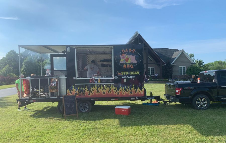 Babz BBQ plans to open its brick-and-mortar in September, serving barbecue, beer, wine and liquor. (Courtesy of Babz BBQ)