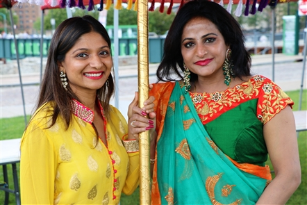 From Bollywood Dance to food from Hyderabad Biryani and Nellai Banana Leaf, the Festival of India - presented by the India Association of Buffalo ?— took over Canalside on Saturday, Aug. 24, 2019. See who took in the scene.