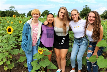 After facing new legislation from the Town of Cambria, which required a special events permit for Danielewicz Farm to continue to hold events celebrating their vibrant sunflowers, the Sunflowers of Sanborn returned Sunday, Aug. 18, 2019, day two of the extravaganza. See who shopped from 50 artisans and posed for photos in the field.