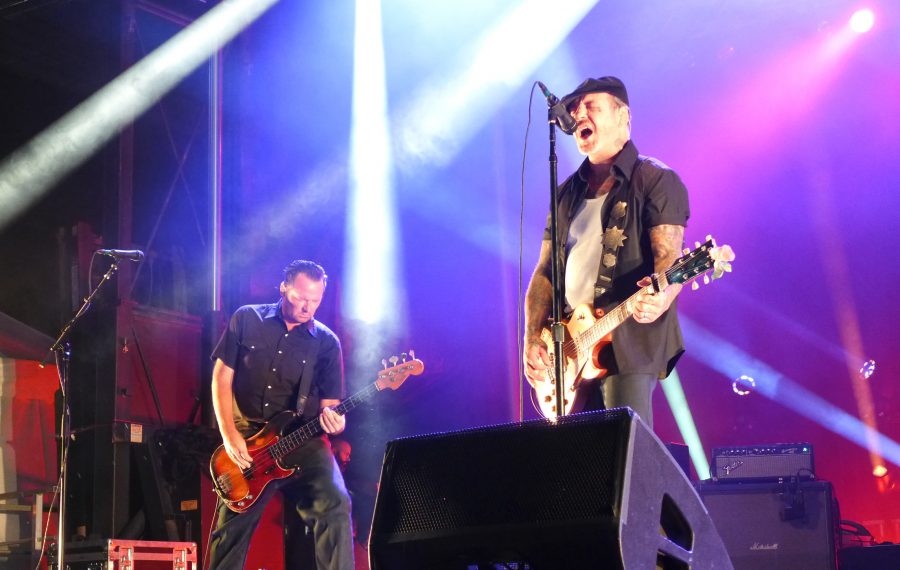 Mike Ness and Social Distortion played to its faithful Buffalo fans at a Canalside Live concert. (Nancy J. Parisi/Special to The News)
