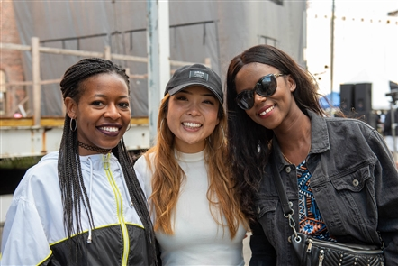 The Beau Fleuve Music & Arts Festival took advantage of the Silo City setting, with everything from poetry to bountiful live music from Zuri Appleby and Curtis Lovell to a wealth of silent disco options. Check out the crowd on Sunday, Aug. 25, 2019.