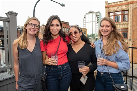 The American Advertising Federation's Buffalo chapter hosted a bartending tip competition - the Big Tip-Off - on Thursday, Aug. 15. 2019 at Soho Buffalo. Local advertising organizations such as Mower, Crowley Webb, Mr. Smith, Martin. and more had at least one employee serve as their celebrity bartender.