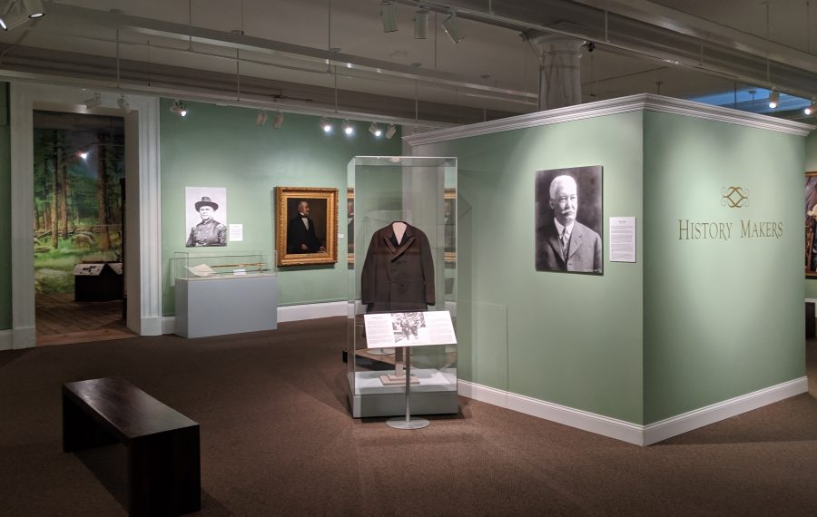 """""""History Makers"""" is the new exhibit at the Buffalo History Museum. (Photo courtesy of the Buffalo History Museum)"""