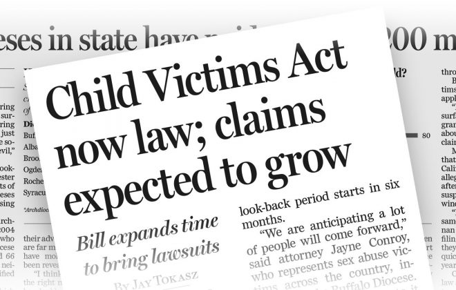 Case by case: Child Victims Act filings detail heart-wrenching stories of abuse