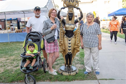 The St. Mary and St. Moses Coptic Orthodox Church in North Tonawanda celebrated its 11th annual Egyptian Festival, replete with ethnic food like falafel and kofta, plus live music, dancing, a church exhibition and more on Friday, Aug. 23, 2019. The festival runs through Sunday.