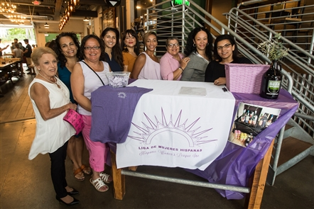 The Hispanic Women's League of Buffalo, which helps Hispanic women in their personal and professional lives, held a special fundraiser on Thursday, Aug. 14, 2019 at Community Beer Works. See who supported the local group and took part in the auction for a wagon full of liquor.
