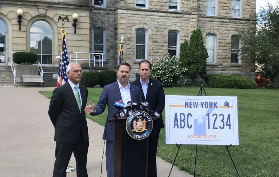 Niagara County Republicans to introduce bill to bar new license plate fee