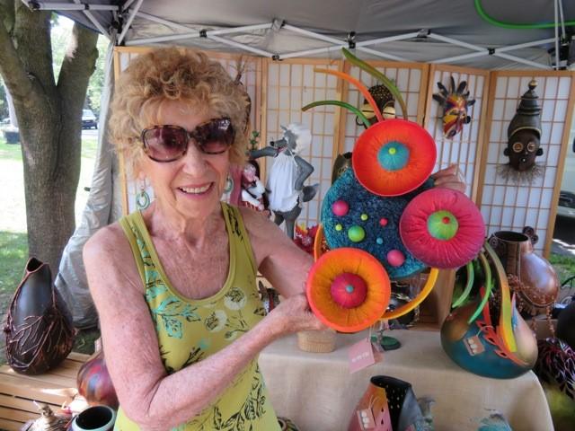 JoAnn Vanderheidt is a featured artist at the Lewiston Art Festival.