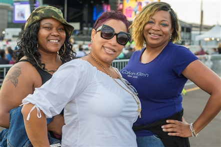 MC Hammer's House Party is quite the whirlwind of personalities, with Sir Mix-a-Lot and Sisqo in tow when Hammertime took over the outdoor venue of Seneca Niagara Casino on Friday, Aug. 16, 2019. The crowd, naturally, got into it.