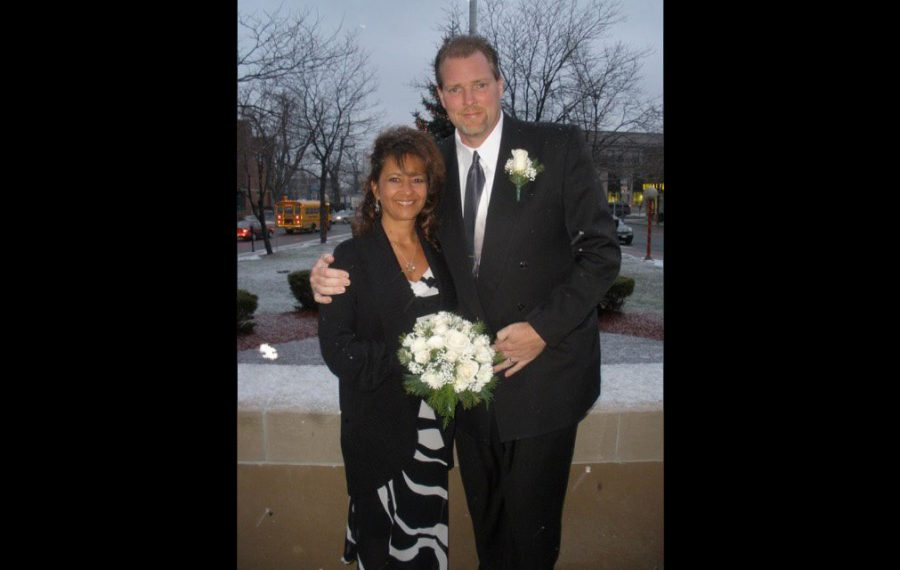 Tammy Cleveland, pictured with her late husband, Michael. (Provided photo)