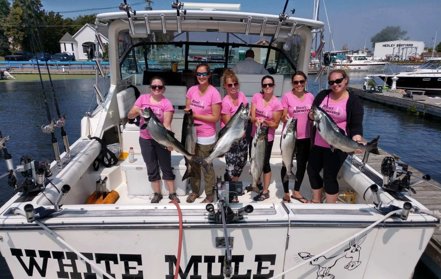 Reeling ladies into fishing with Reelin' for a Cure