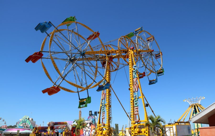 The Sky Wheel originally debuted at the Erie County Fair in 1963. (Photo courtesy Erie County Fair)