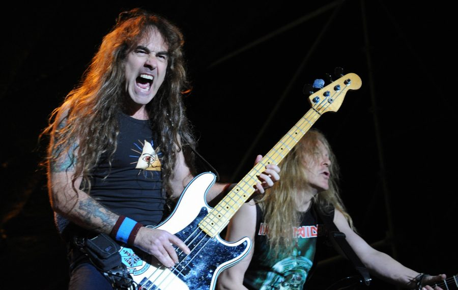 Steve Harris of the legendary British rock band Iron Maiden. (Getty Images)