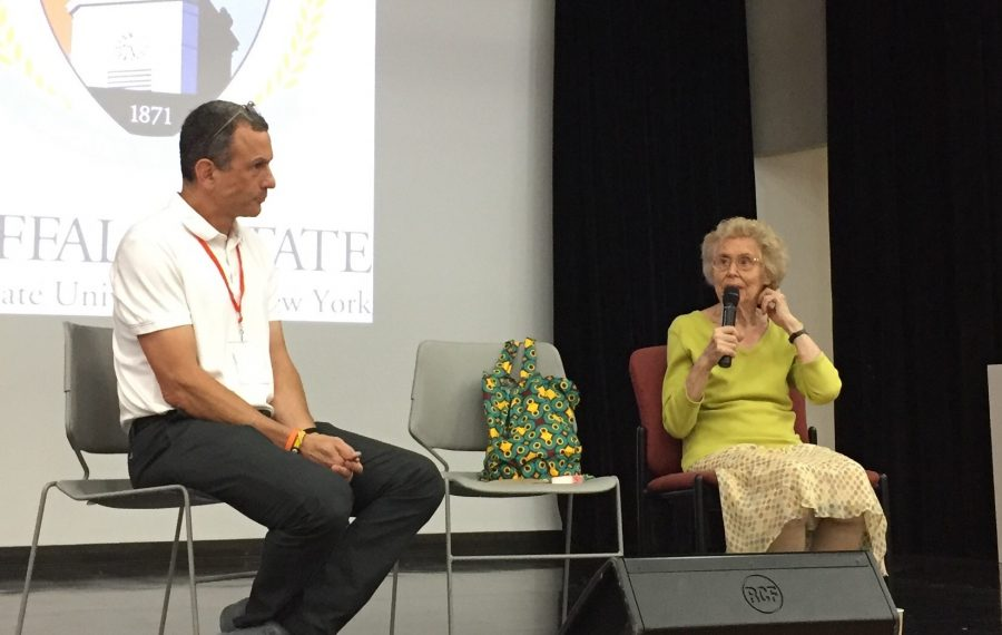 'We must teach the teachers,' Holocaust survivor urges at seminar