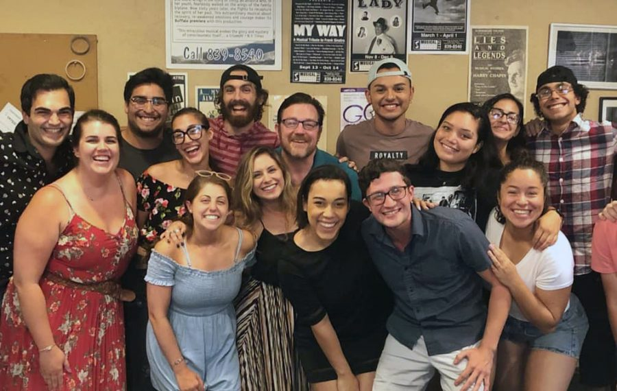 """Part of MusicalFare's diverse cast for """"West Side Story,"""" which runs Sept. 4-Oct. 6."""