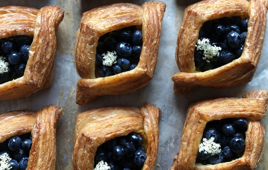A blueberry almond danish by Butter Block. (Photo courtesy of Butter Block)