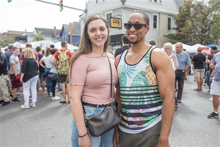 One of the largest events of the summer, the Elmwood Avenue Festival of the Arts began its two-day run on Saturday, Aug. 24, 2019,  with more than 170 artists showcasing their work, plus the allure of the Cultural Row and a bevy of food options.