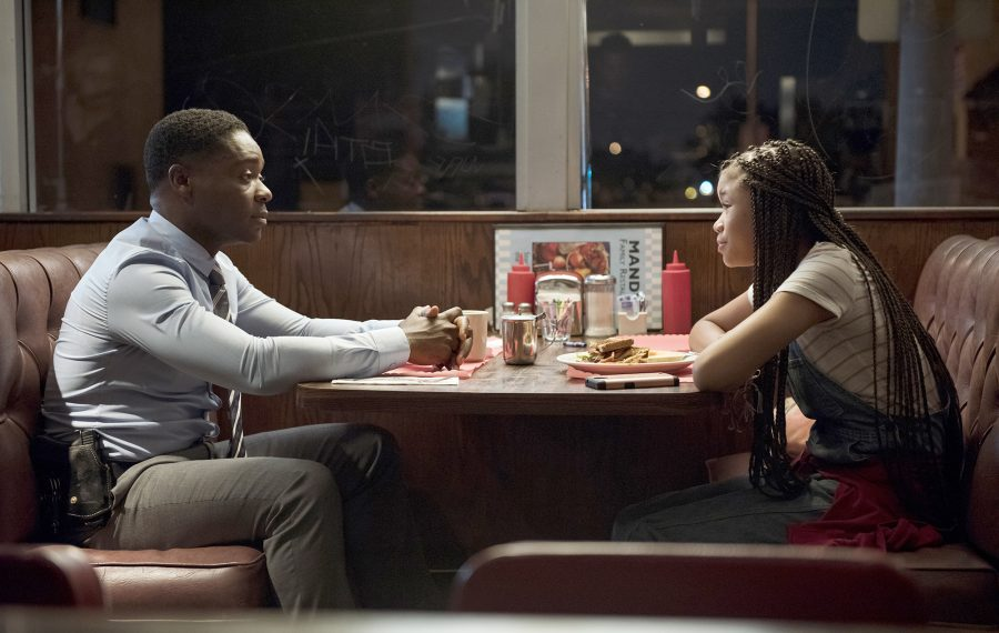"David Oyelowo stars as Jack Radcliff and Storm Reid as his niece Ashely Radcliff in ""Don't Let Go."" (Photo courtesy of Lacey Terrell/Universal Pictures/OTL Releasing)"