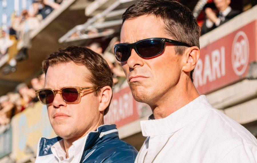 "Christian Bale and Matt Damon costar in ""Ford v Ferrari."" (TIFF/Getty Images)"