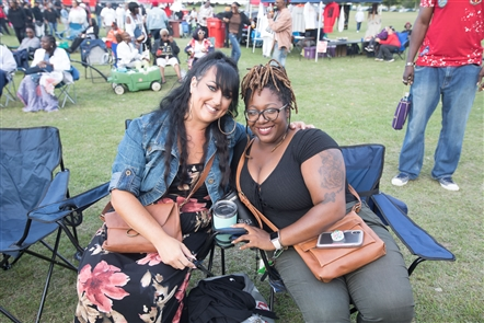 A festival dedicated to the memory and musical achievements of funk-master Rick James, the NICYO Funk Fest grooved on Saturday, Aug. 24, 2019 in LaSalle Park. Denzell Ward and the Cool Platinum was a local band on the slate, with The Zapp Band headlining the afternoon full of music.
